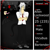 NexusCity Application - Allen Lockwood by AdorableEvil29
