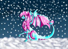 Let the snow fall by floravola
