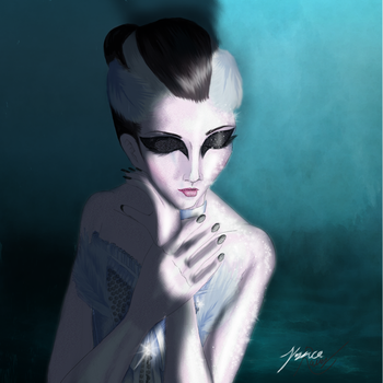 Dying Swan by JessicaRaven