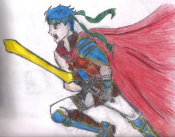 Ike collab by fontainekia