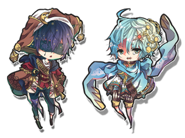Auction ::COUPLE SPECIAL:: [CLOSED] by ClockworkAdopt