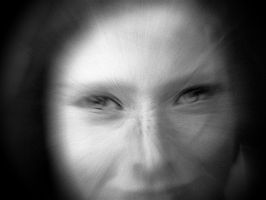 Blurred portrait by April-Mo