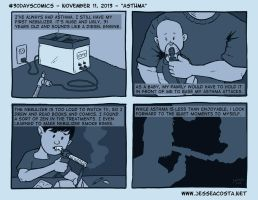 30 Days Comic Challenge Day 11 Asthma by JesseAcosta