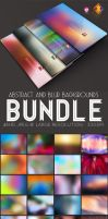 Abstract and Blurred Backgrounds Bundle by LuisFaus