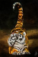 Stretching Tiger by hydraa