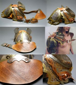 Dragon Pauldron by dkdelicious