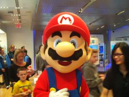 KTD and MGWT at Nintendo World 30 by MarioSimpson1