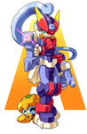 The Copy Megaman by ultimatemaverickx