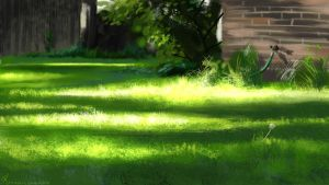The Backyard - Speed Study by krazykrista