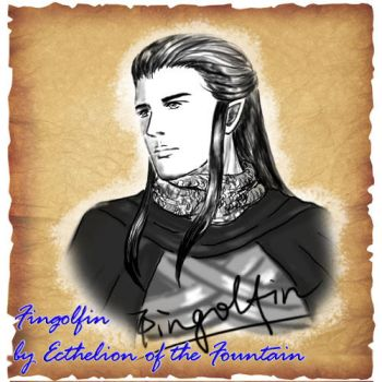 Fingolfin by EcthelionF