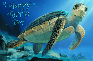 Happy Turtle Day by charfade