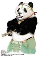 Panda of Fortune by lenzamoon