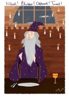 Dumbledore by CaptainChants