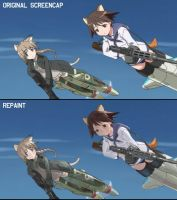 HARDWELL121: Strike Witches Repaint by Hamsta180