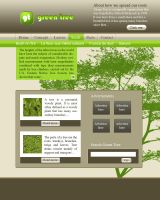 Green Tree by InterGrapher