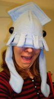 Sewn Squid Hat by goosezilla