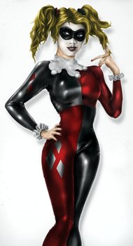 HarleyQuinn Color by Neroq