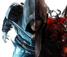 Assassins creed VS Prototype by deviantart2009