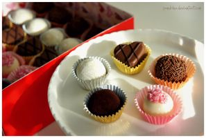 Mother's Day Truffles by pandrina