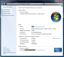 Windows 7 System by Tech-Dave