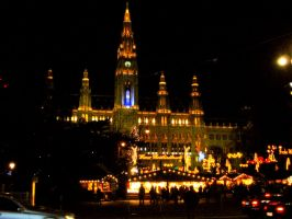 Vienna at night by sexylove555