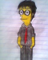 Simpsonized Billie Joe draw - 2 by Haruhiy