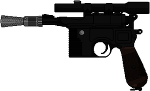 DL-44 Heavy Blaster Pistol by Hybrid55555