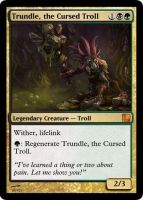 Trundle the Cursed Troll by Swend