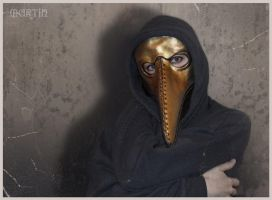 Plague Doctor Mask 1_ by SMartin777