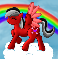 Red Rover The Pegasus by TattyBudderfly