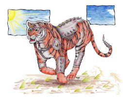 Armored Tiger by mangalover2006
