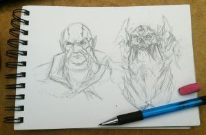 Melchiah Sketches by sinDRAWS