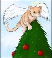 A Kitty Christmas by MellySandshrew