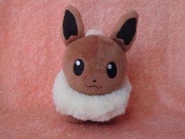Eevee plushie by Kogalover-Zoe