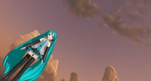 This Epic Pic Of Miku by deidara8020