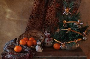 About tangerines and snowmen 3 by An-gora