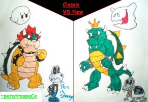 RQ: Classic vs New by paratroopaCx