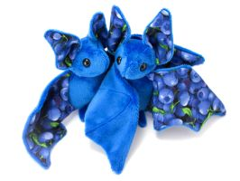 Blueberry Fruit Bats by BeeZee-Art