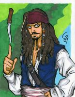 Jack Sparrow by grantgoboom