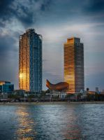 Port Olimpic - IV by Life-For-Sale