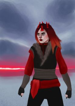Red Inquisitor - Commission by PixieHaven