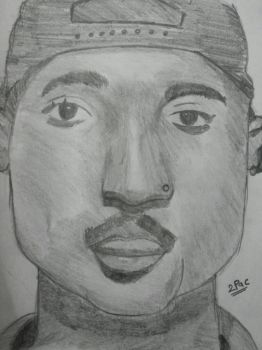 Sir 2Pac Sketch By Me by kev009