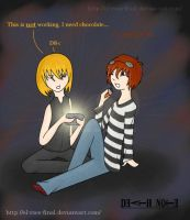 Death Note - Mello and Matt by el-roce-final