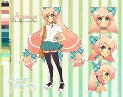 Meanna Ref Sheet by sererena