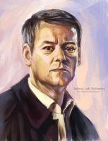 Greg Lestrade by ladunya