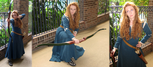 Cosplay: Merida from 'Brave' IMPROVED by TempestFae