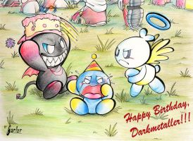 Happy Birthday Darkmetaller :3 by Garlar