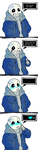 You Encountered a Flirting Sans! by TheScarred
