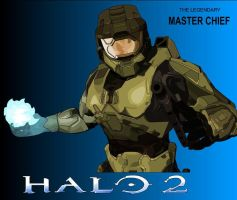 Master Chief by darthpinhead47