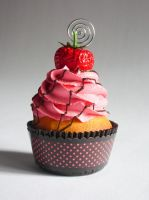Strawberry Faux Cupcake - 02 by CreativeAbubot